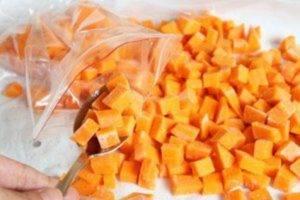 Замораживаем тыкву на зиму и как из неё приготовить вкусное блюдо?