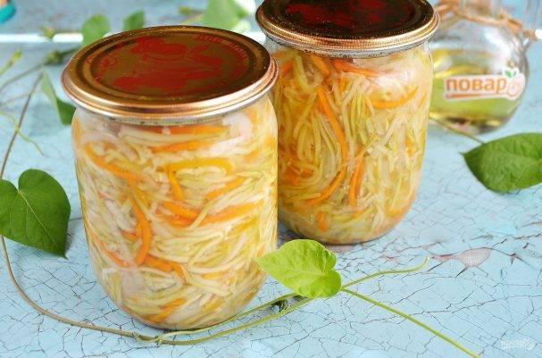 Пошаговые рецепты консервации юрчи из кабачков на зиму
