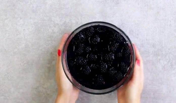 Варенье из ежевики на зиму пятиминутка. рецепт ежевичного варенья с фото