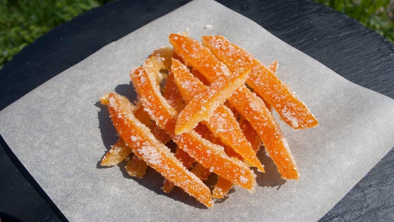 Домашние цукаты из апельсин