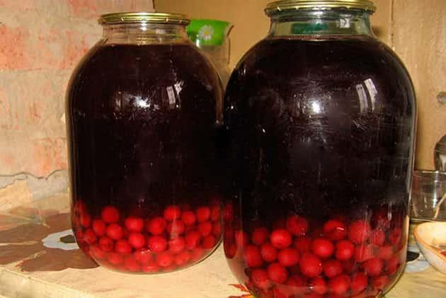Вкусные компоты из вишни на зиму: рецепты на 3 литровую банку