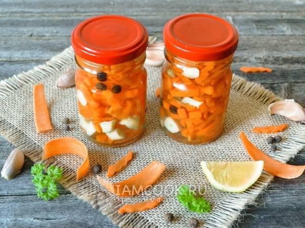 Маринованная морковь — лучшие рецепты