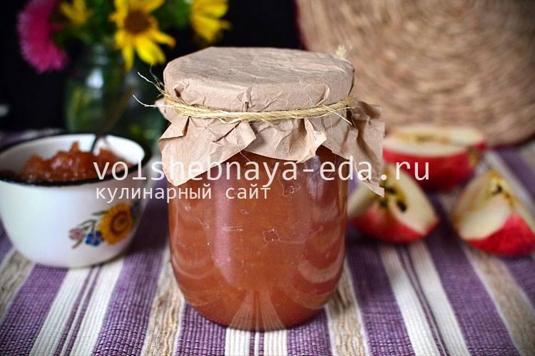 Рецепт яблочного варенья в мультиварке