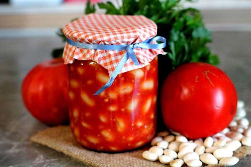 Готовим фасоль в томатном соусе на зиму — 6 вкусных рецептов