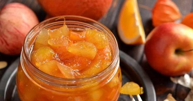 Яблочное варенье с орехами: пошаговый рецепт приготовления, правила хранения