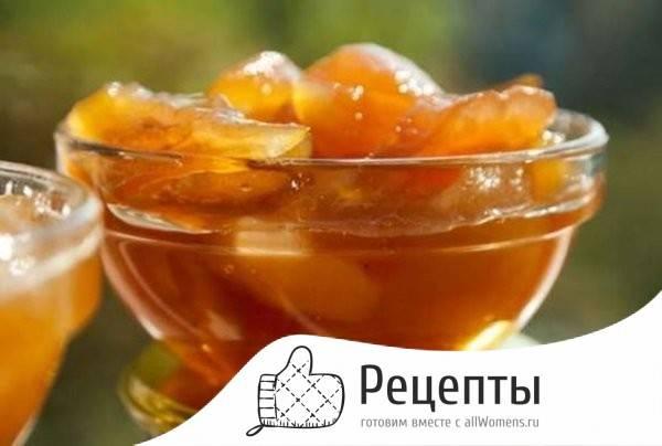 12 лучших рецептов приготовления янтарного яблочного варенья дольками на зиму