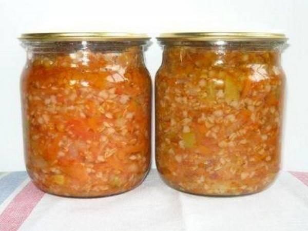 """Заготовки на зиму: салат """"завтрак туриста"""" с перловкой. рецепт приготовления, ингредиенты"""