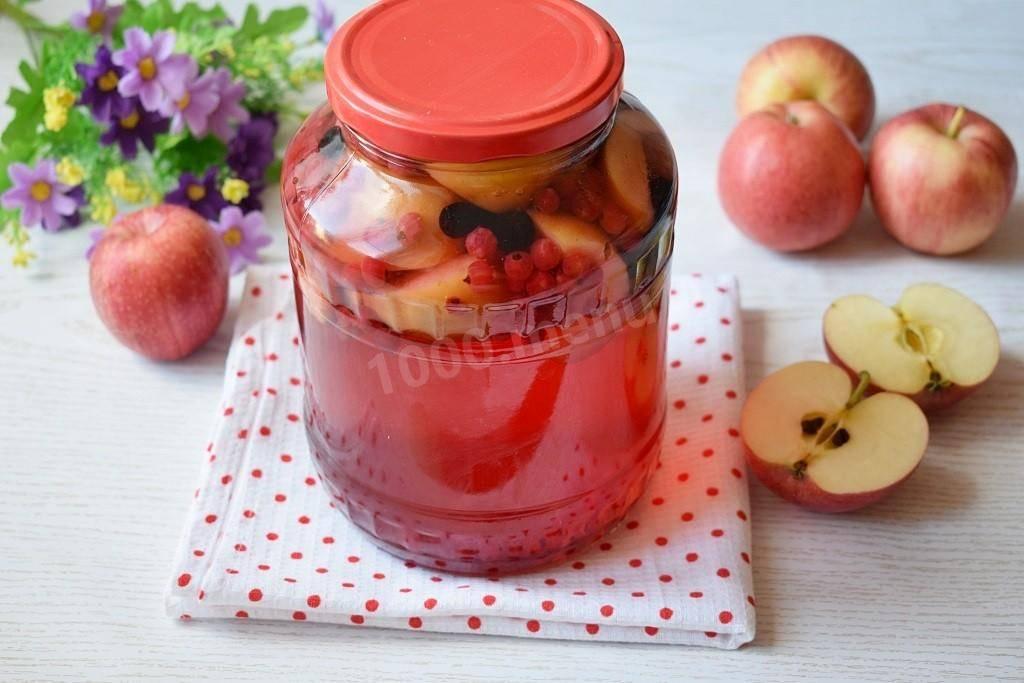 Как готовить компот из малины на зиму