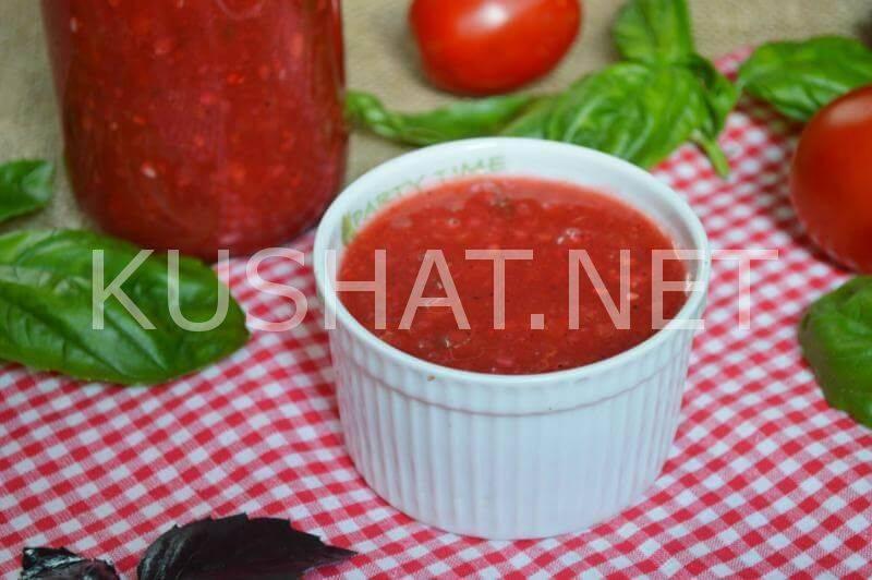 Аджика из зеленых помидор