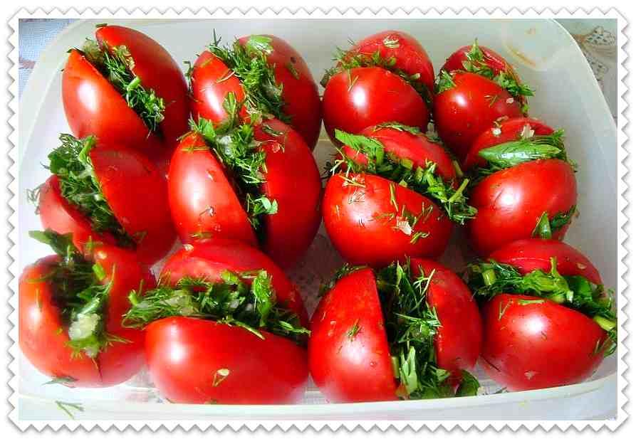 Рецепты зелёных помидоров по-грузински