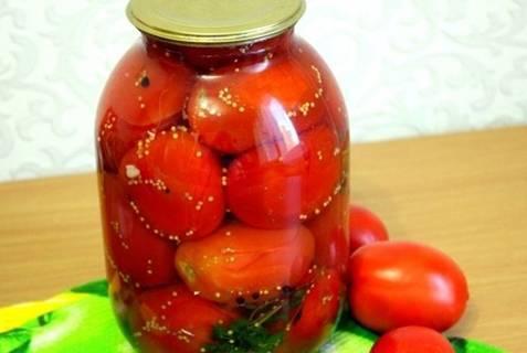 Рецепты маринования помидоров с семенами горчицы на зиму