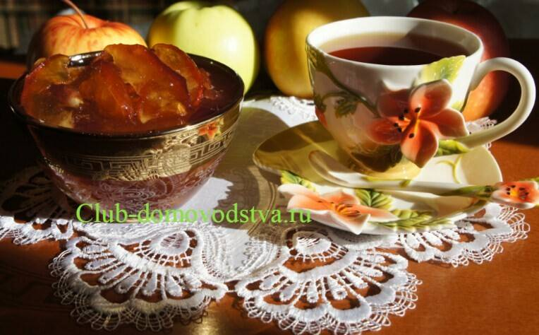Смоквы или сухое варенье из яблок