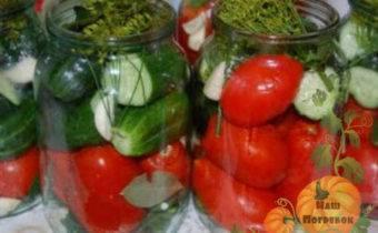 Салат ассорти на зиму