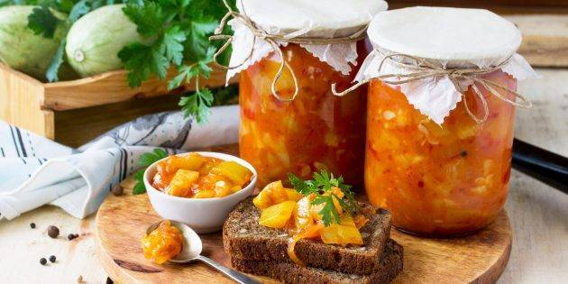 10 лучших рецептов маринованных кабачков на зиму