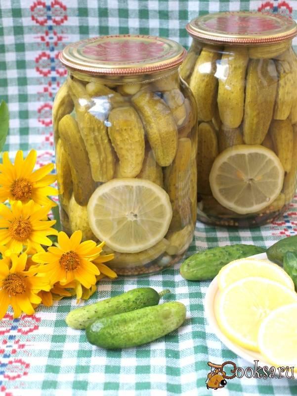 Маринованные огурцы на зиму с лимонной кислотой без уксуса