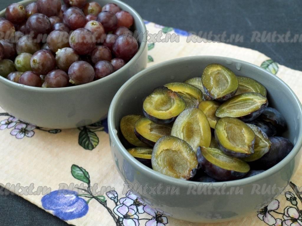 Консервация винограда на зиму — делаем заготовки в домашних условиях