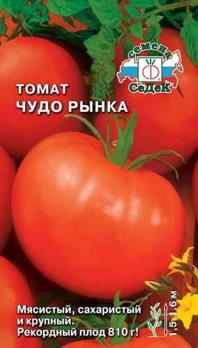Сорт томата «чудо рынка»: описание, характеристика, посев на рассаду, подкормка, урожайность, фото, видео и самые распространенные болезни томатов