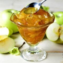 Повидло из яблок кусочками