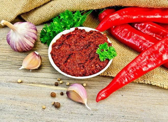 Аджика абхазская классическая — 7 традиционных рецептов аджики по-абхазски без варки