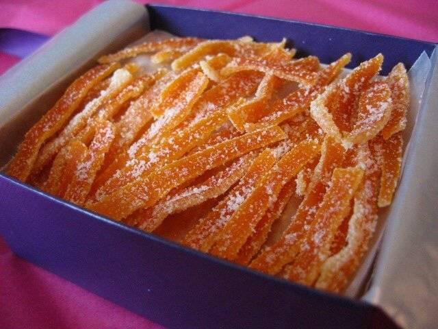 Домашние цукаты из апельсиновых корок, простые рецепты