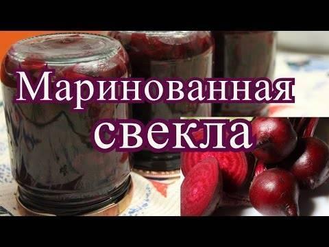 Маринованная свекла на зиму — 8 очень вкусных рецептов