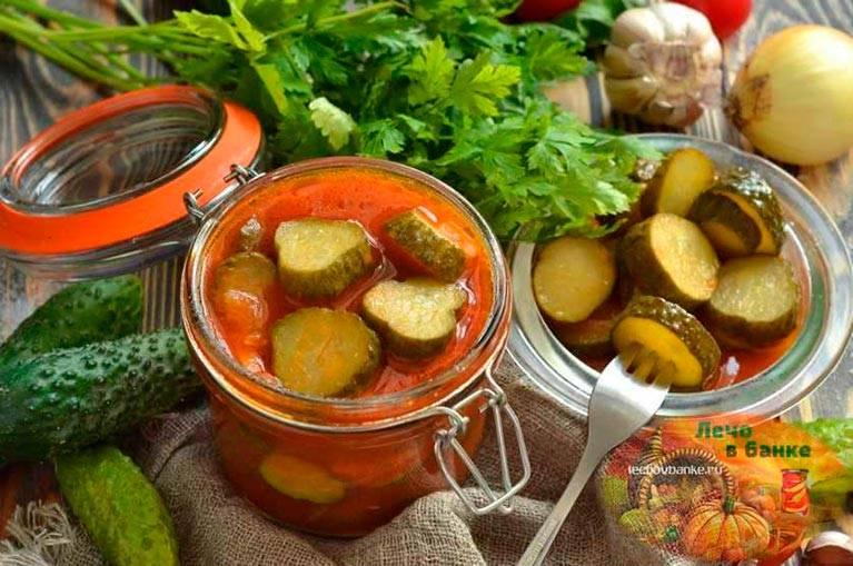 Вкусные рецепты огурцов с кетчупом чили на зиму