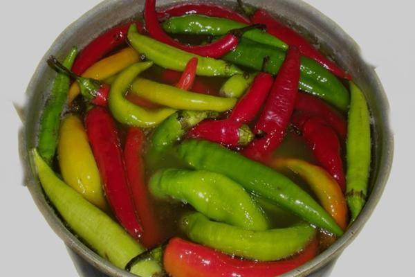 Сладкий перец по-корейски