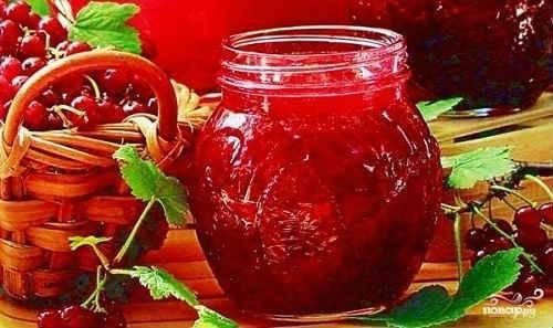 Пятиминутка из красной смородины на зиму — 7 простых рецептов