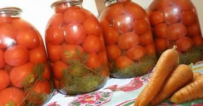 Маринованная свекольная и морковная ботва