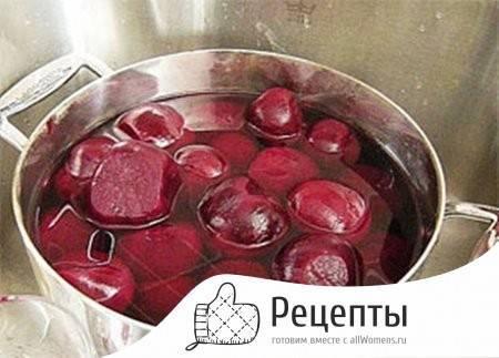 Лучшие рецепты быстрого приготовления маринованной свеклы для холодного борща