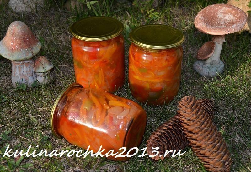 Топ 3 рецепта приготовления венгерской закуски на зиму с перцем и морковью