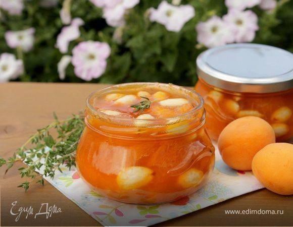 Рецепт приготовления джема из абрикосов с апельсинами на зиму