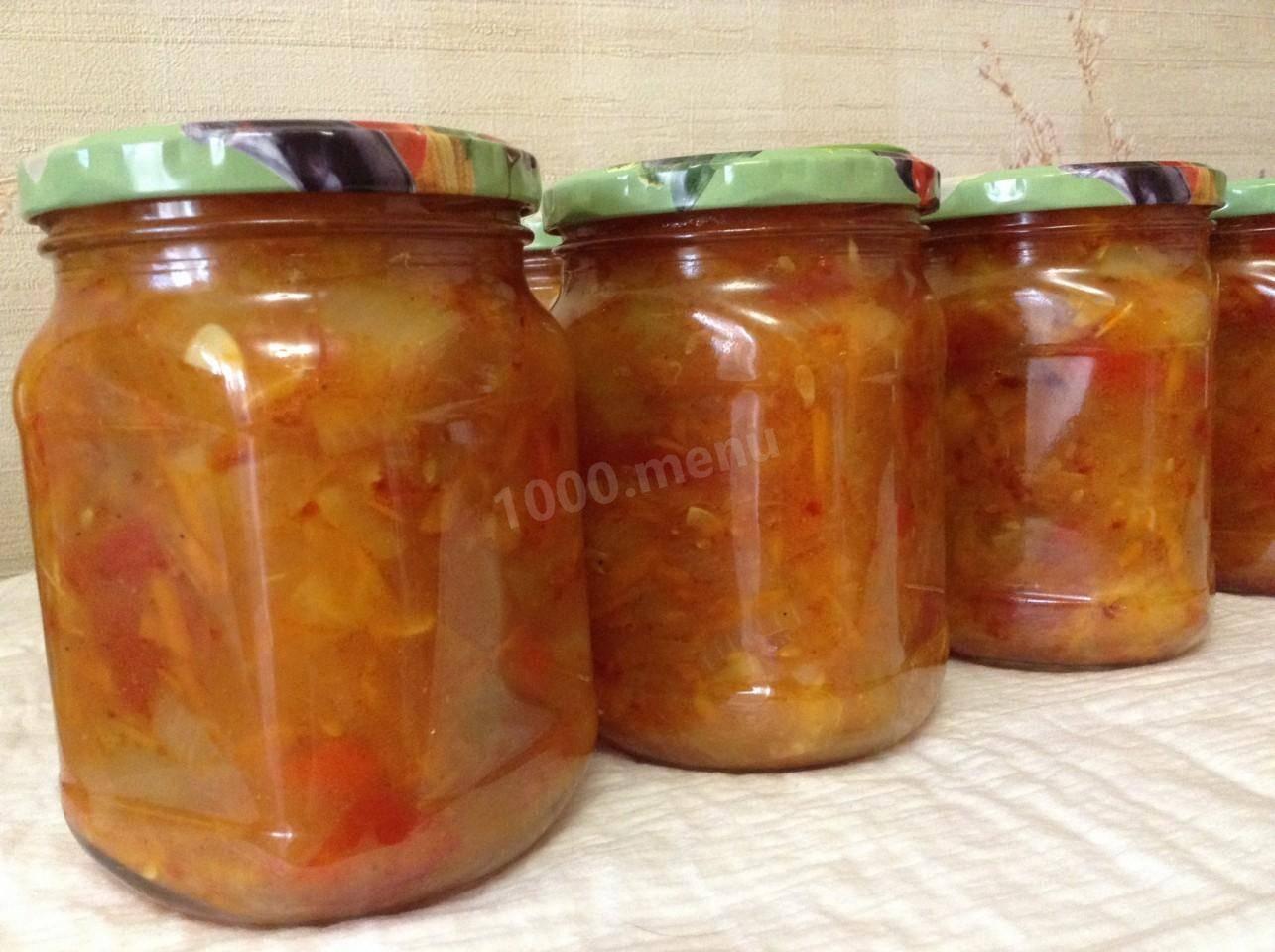 Рецепт приготовления на зиму салата анкл бенс из кабачков: пошаговое фото и видео-рецепт