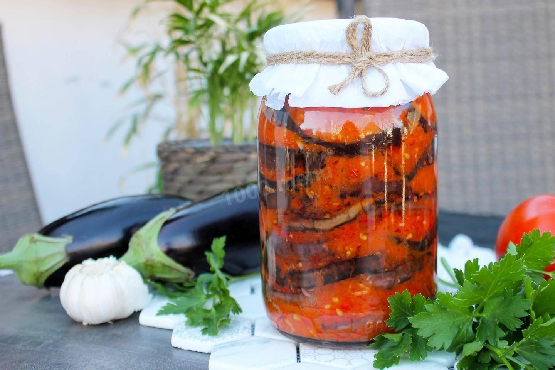 Баклажаны «огонек» на зиму: старый рецепт и новые варианты вкусной заготовки