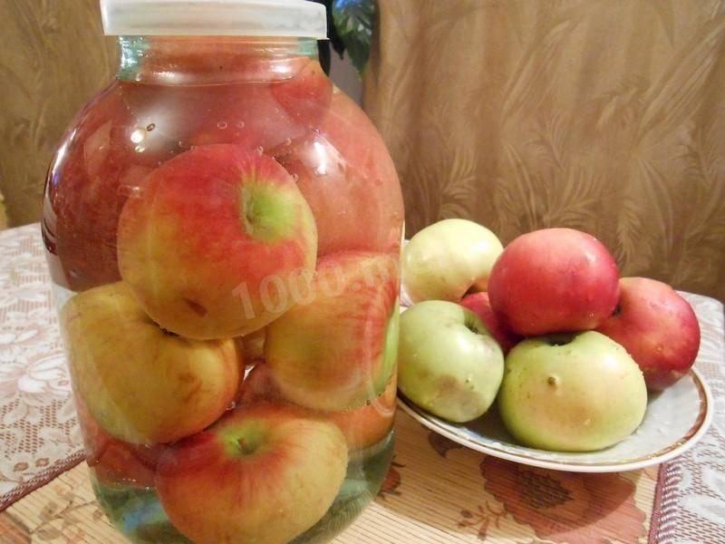 Простые пошаговые рецепты приготовления маринованных яблок целиком и дольками
