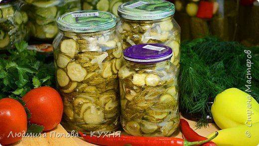 Салат на зиму из огурцов, помидоров и перца