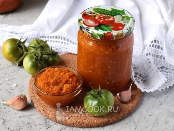 Икра из зеленых помидор на зиму - 5 рецептов пальчики оближешь с фото пошагово