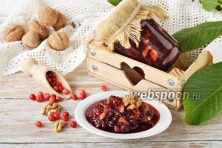 Рецепт приготовления варенья из брусники с грушами на зиму
