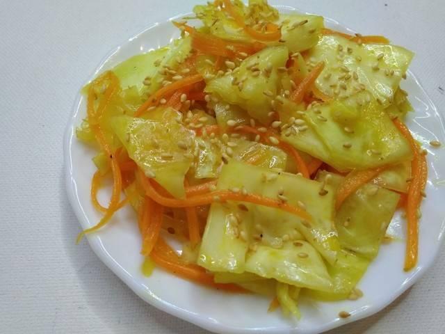 Как приготовить капусту по-корейски в домашних условиях по пошаговому рецепту