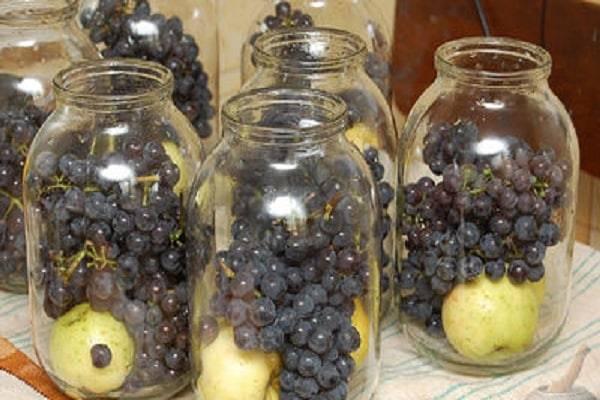 Как готовить компот из винограда на зиму. как варить компот из винограда: традиционный рецепт, и что получится, если в банку добавить апельсин или шиповник. компот из винограда и яблок: видео