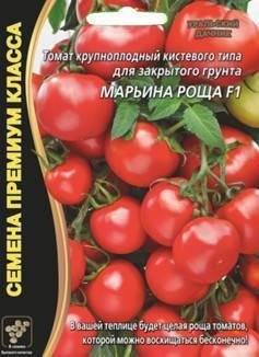 Характеристика и описание сорта томата марьина роща, его урожайность