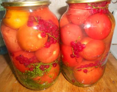 Квашеные зеленые помидоры с горчицей