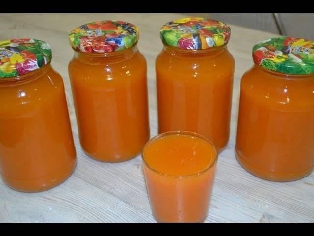 Простой рецепт абрикосового сока с мякотью на зиму в домашних условиях