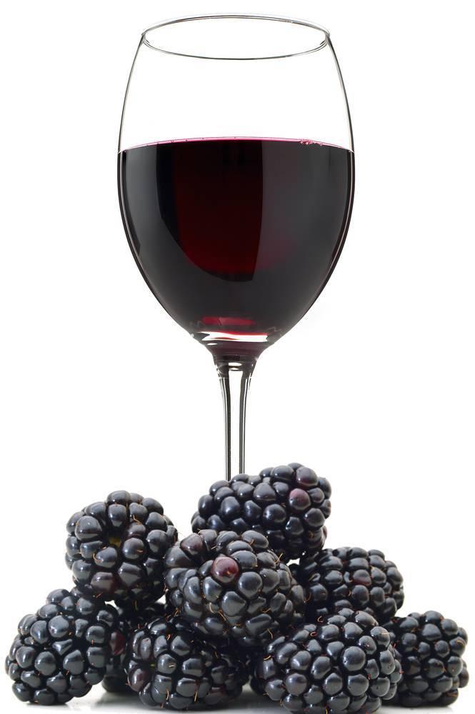 Удивительное ежевичное вино