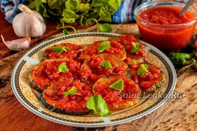 Самые вкусные рецепты помидоров по-грузински на зиму быстрого приготовления