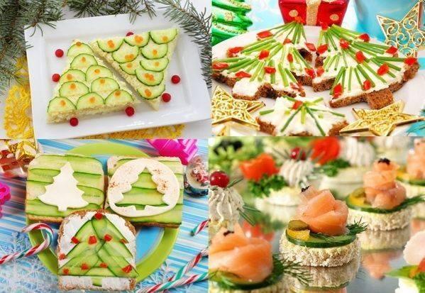 Закуски на новый год 2021 — рецепты легких, горячих и холодных праздничных блюд