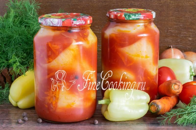 Лечо на зиму перец морковка помидорки