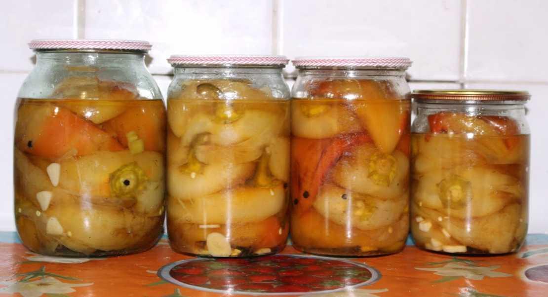 ТОП 4 рецепта заготовки на зиму печеного перца в домашних условиях