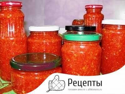 Рецепт приготовления с пошаговыми фото настоящей жгучей кавказской аджики на зиму в домашних условиях