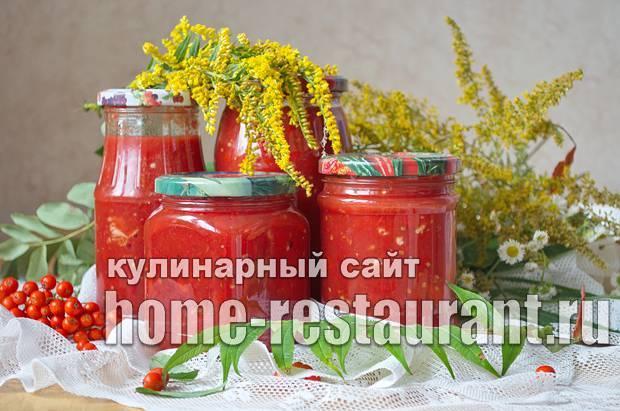 Лечо из перца и помидоров — 10 вариантов вкуснейшей заготовки на зиму
